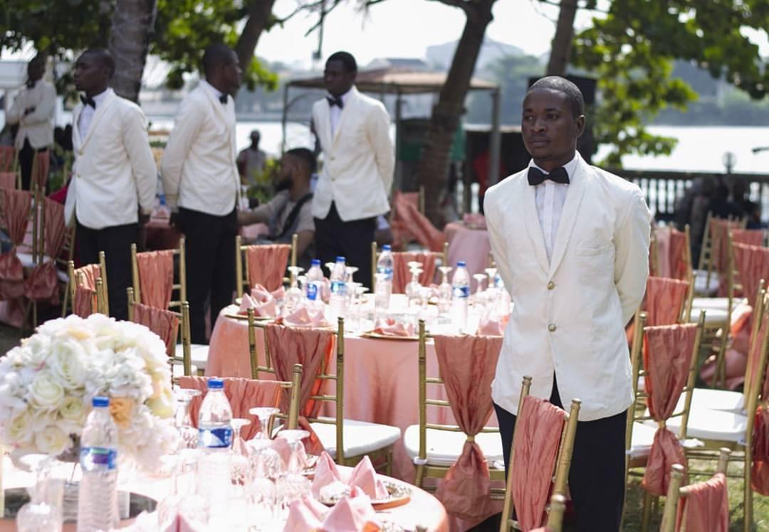 Wedding waiters