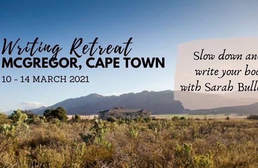 10 - 14 MARCH 2021 | 4-NIGHT WRITER'S RETREAT