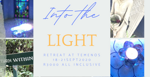 18 – 21 Sept 2020 | Into the Light - Offered by Charisse Louw