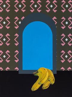 '5 bananas' (2019) POA