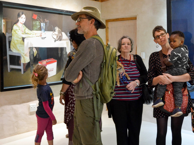 Hanneke Benade' solo exhibition -Mise-en-scène-