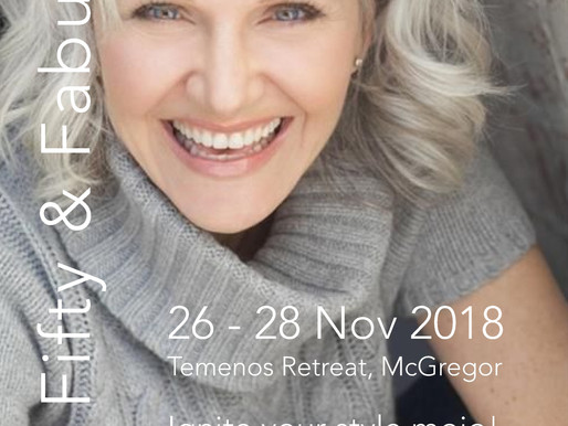 26th - 28th November 2018 | Over Fifty & Fabulous workshop at Temenos