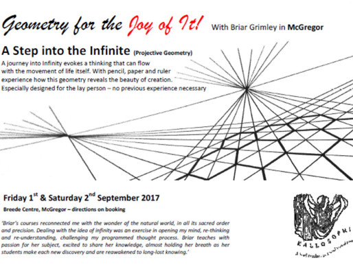 1-2 September 2017 - A Step into the Infinite - Projective Geometry Workshop