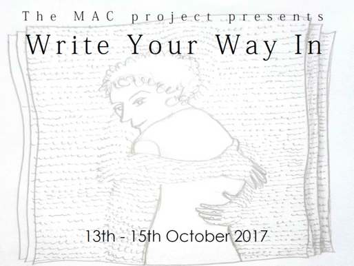 13 - 15 October 2017 | Write Your Way In
