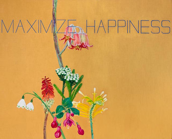 'Maximize happiness' (2015) POA