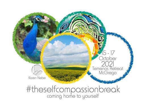 15-17 Oct 2021 | #TheSelfCompassionBreak