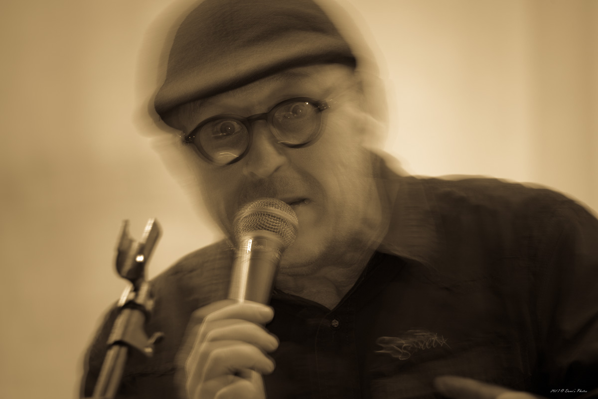 Koos van der Merwe live at Wahnfried, McGregor, South Africa