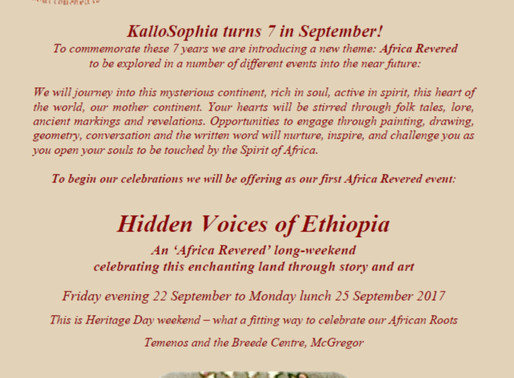 22 – 25 September 2017 - Hidden Voices of Ethiopia