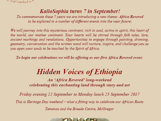 22 – 25 September 2017 - Hidden Voices of Ethiopia