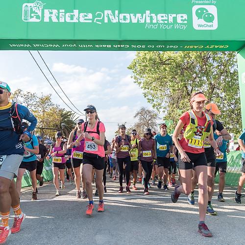 Run2Nowhere 2017 Day 1 Trail Run