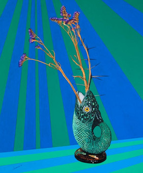 'Fish vase' (2014) POA