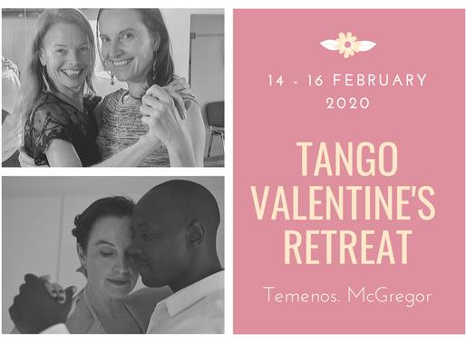 14-16 Feb 2020 | Tango Valentine's Retreat at Temenos