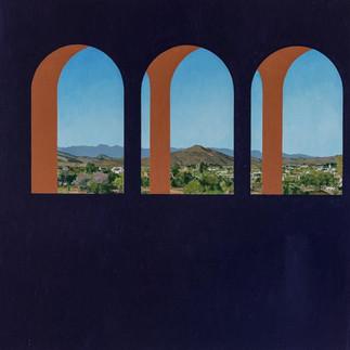 '3 arches landscape' (2018) POA