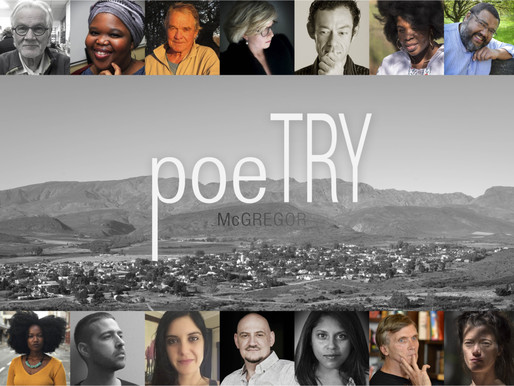 24 -26th Aug 2018 | THE McGREGOR Poetry Festival