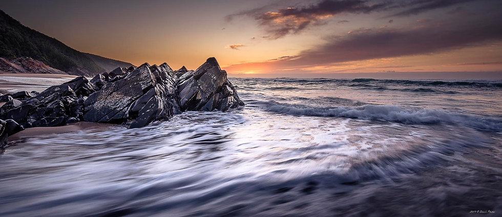 'ocean sunrise 3'