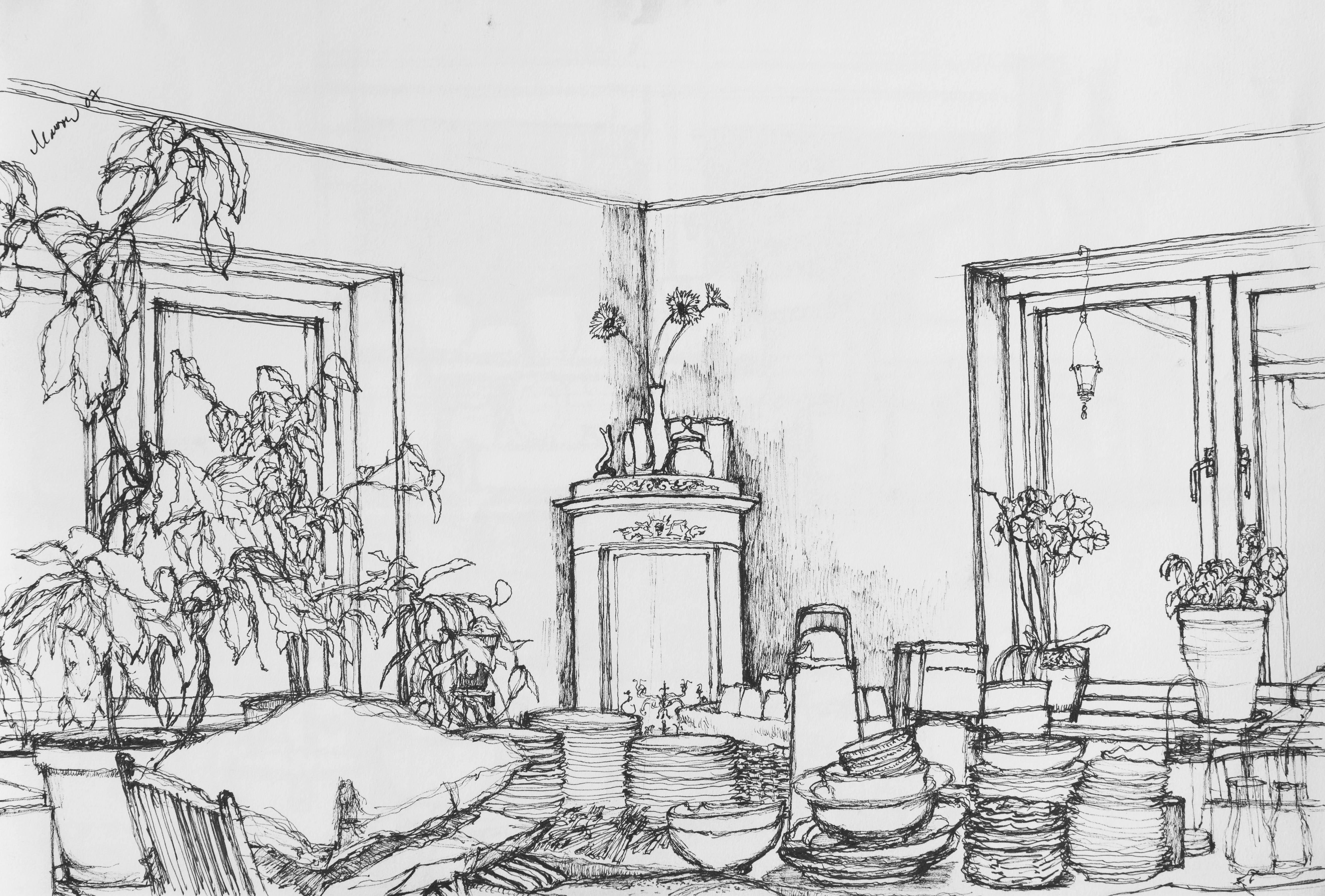 John Adam Barrow's drawing