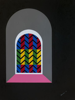 'Stained glass' (2019) POA