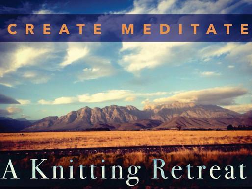17 - 19 Sept 2021 | Create Meditate a Knitting Retreat with Sita