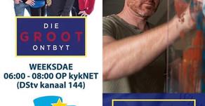 """Floris van Zyl at """"Die Groot Ontbyt"""""""