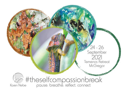 24 - 26 Sept 2021 | #TheSelfCompassionBreak