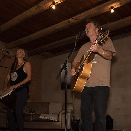 Wendy Oldfield & Robin Auld at the Red Earth Farm