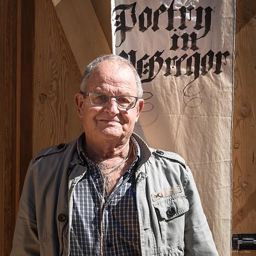 Poetry in McGregor Event #76 Philip de Vos