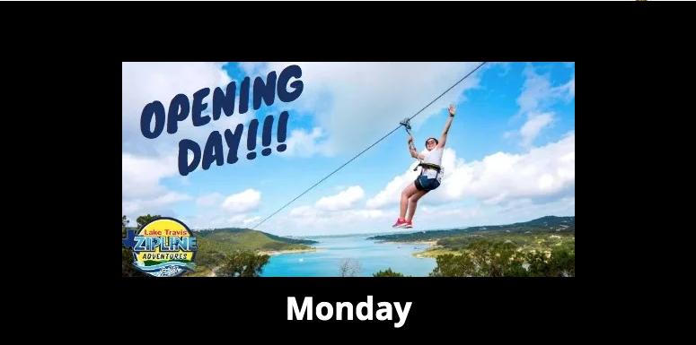 Opening Day-Lake Travis Zipline