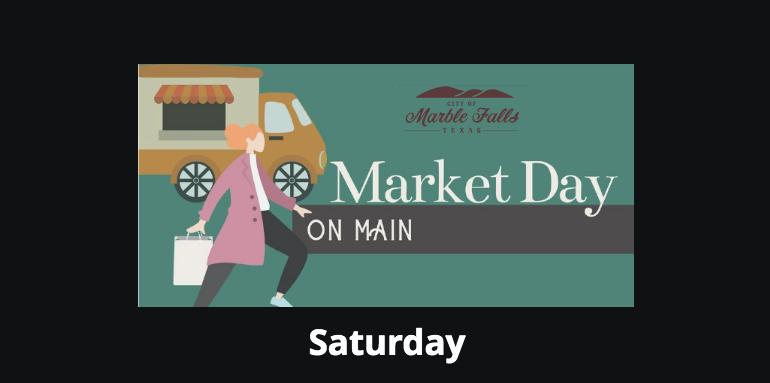 Spring Market Day on Main Historic Main Street Marble Falls