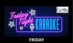 Karaoke Night at The Grille at Highland Lakes