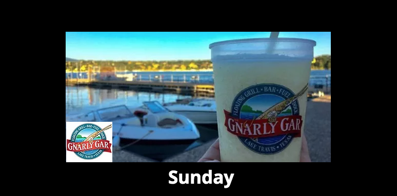 Sunday Brunch On The Water at The Gnarly Gar,