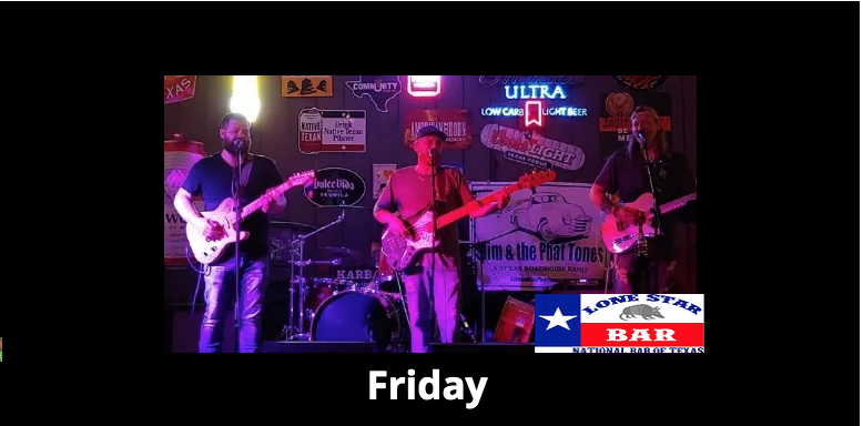 Slim & the Phat Tones at LSB! Lone Star Bar
