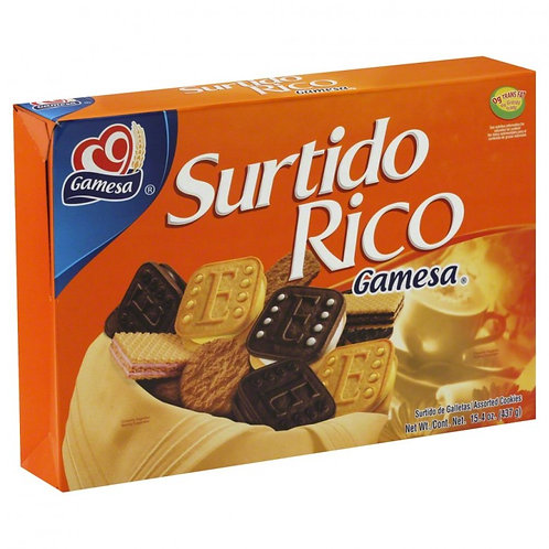 GALLETA GAMESA SURTIDO RICO 516GMS