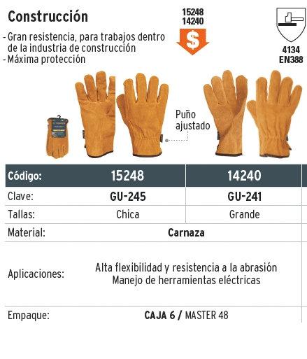 Guantes de construcción GU-245