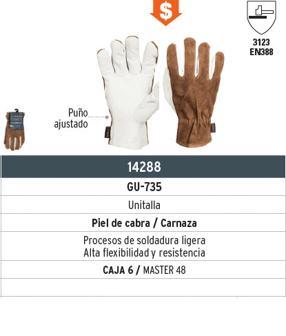 Guantes de electricista GU-735