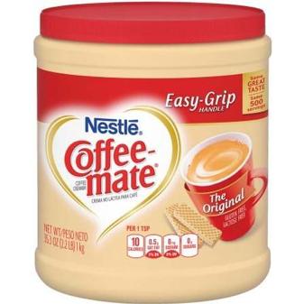 CREMA EN POLVO PARA CAFE COFFE MATE 1.4KG $ 135.00