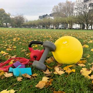 Christine Ronge - Outdoor Mobility Training in Düsseldorf im Park