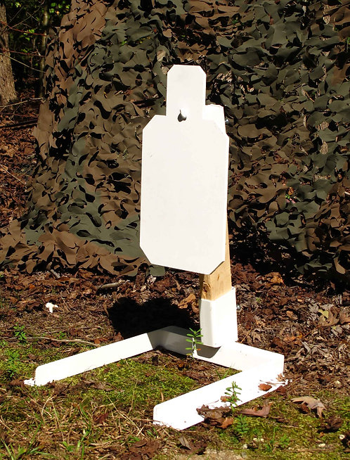 Silhouette Target with Stand