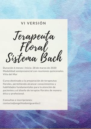 Terapeuta Floral Sistema Bach: Intensivo verano y versión Otoño 2020
