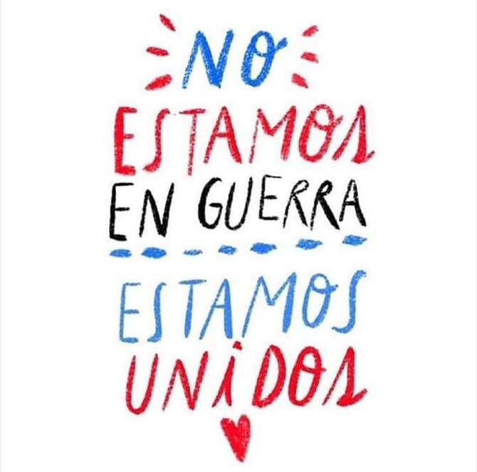 #noestamosenguerra