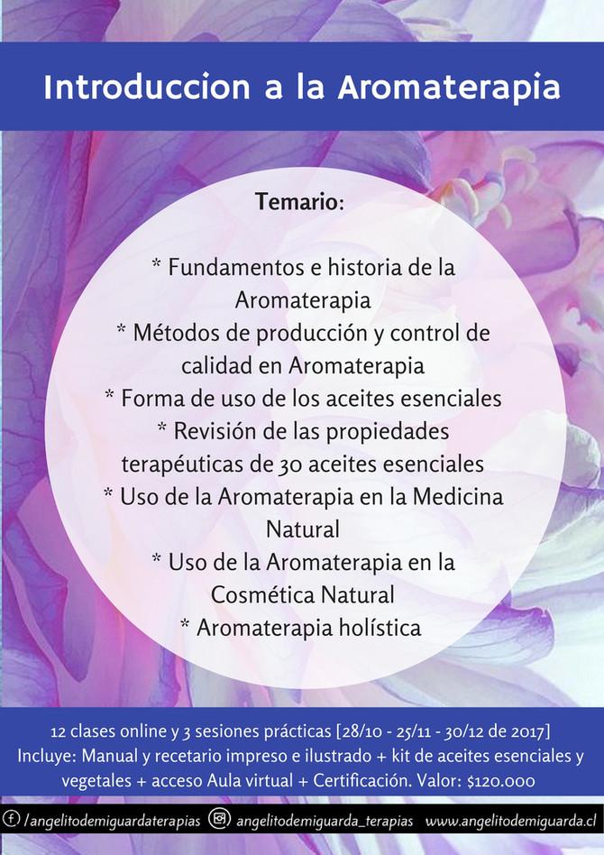 Curso de Introducción a la Aromaterapia