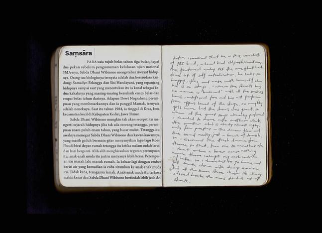 [Spread43] Samsara Short Story (Fragment#2) / (cont.) Bukowskiesque Experience (cont.)