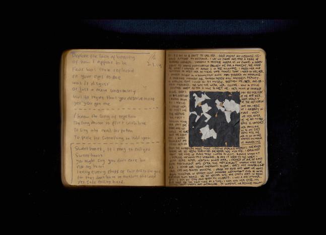 [Spread62] Hafizh Thiralza's Poem / Scrap of a Black Plastic Flower