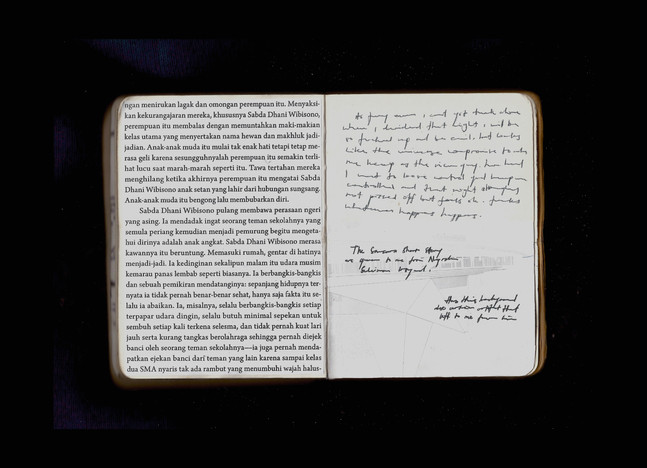 [Spread44] Samsara Short Story (Fragment#3) / (cont.) Bukowskiesque Experience