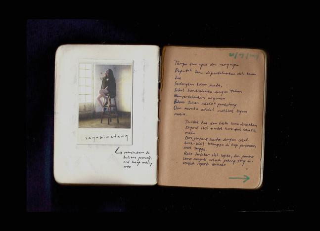[Spread18] Djoyosantyo Joachim's Card / July20 Train of Thought (fragment)