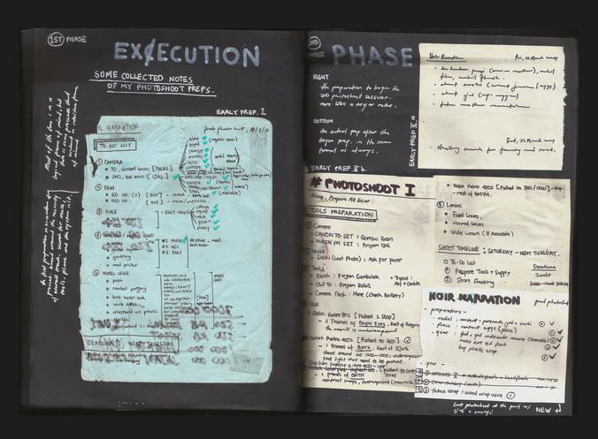 [Noir Narration Archive] Book #1 - Creative Process