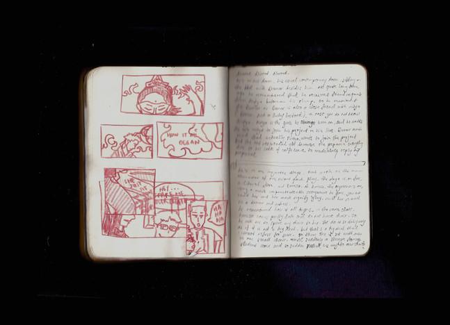 [Spread94] Dream Journal - Fire (Fragment) (cont.)