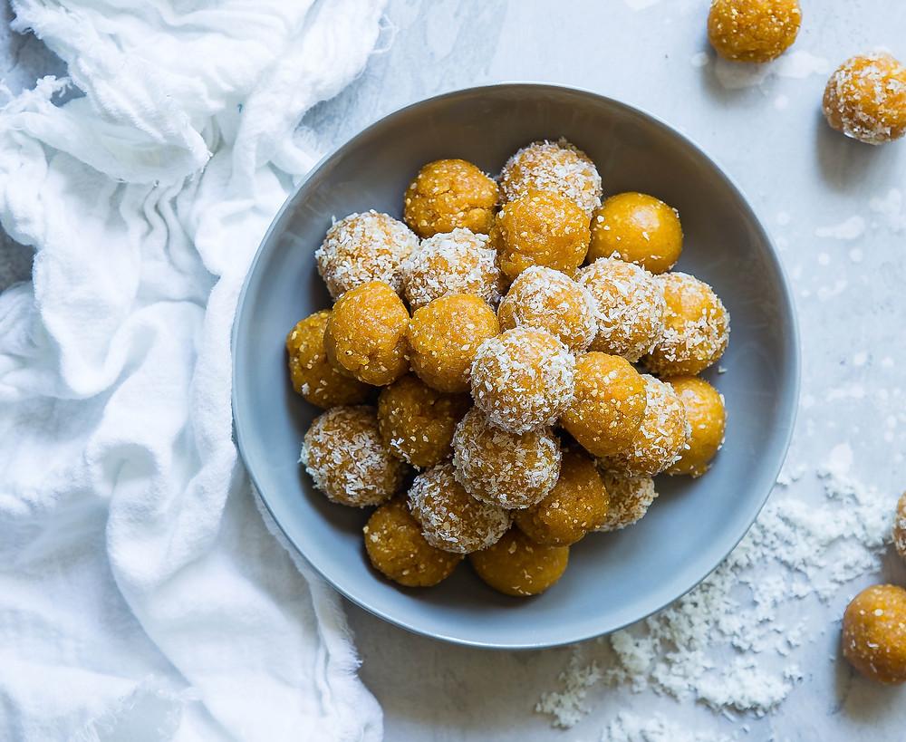 Boules choco arachides