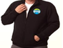 Zip Jacket (Blue) Unisex