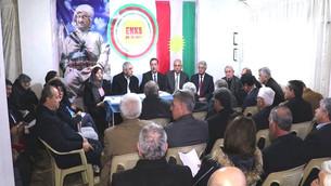 ENKS rola Serok Barzanî di danûstandinên Kurdî - Kurdî de bilind dinirxîne