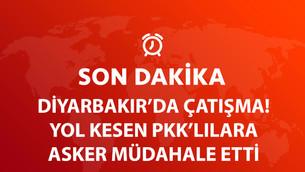 Diyarbakır'da Güvenlik Güçleri ile PKK Arasında Çatışma